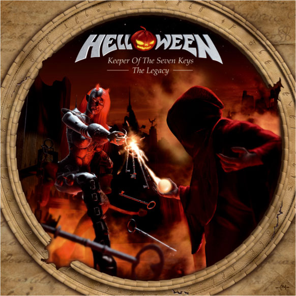 HELLOWEEN - Keeper of the Seven Keys: The Legacy cover