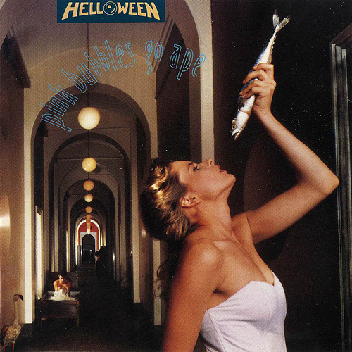 HELLOWEEN - Pink Bubbles Go Ape cover