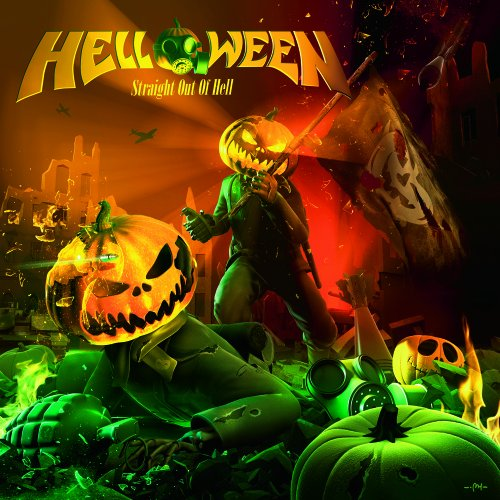 HELLOWEEN - Straight Out of Hell cover