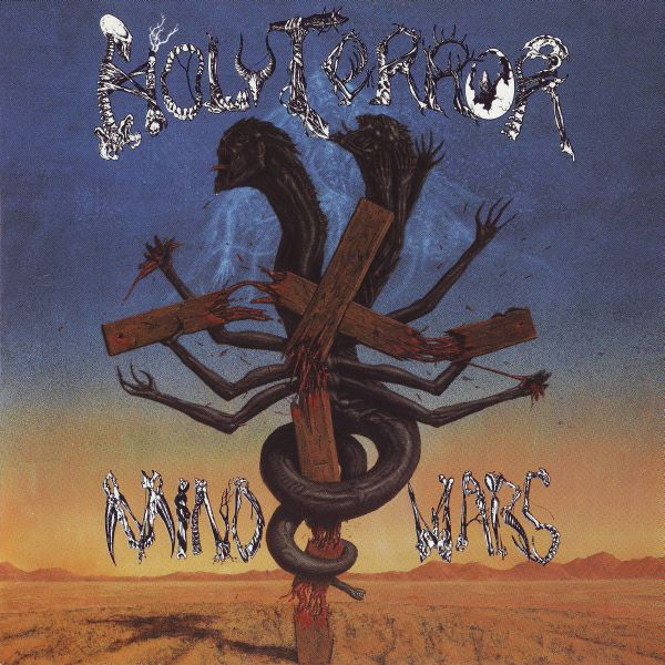 HOLY TERROR - Mind Wars cover