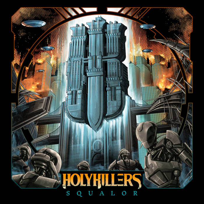 HOLYKILLERS - Squalor cover
