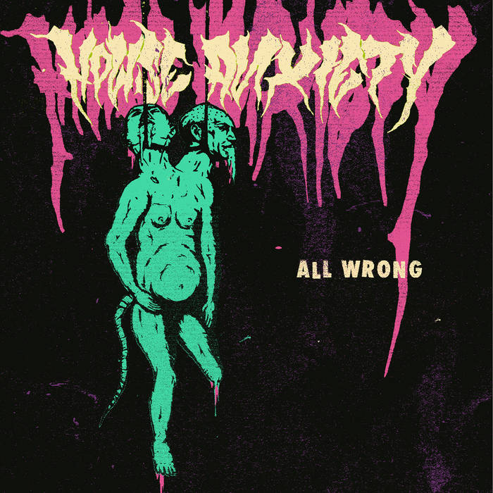 HOUSE ANXIETY - All Wrong cover