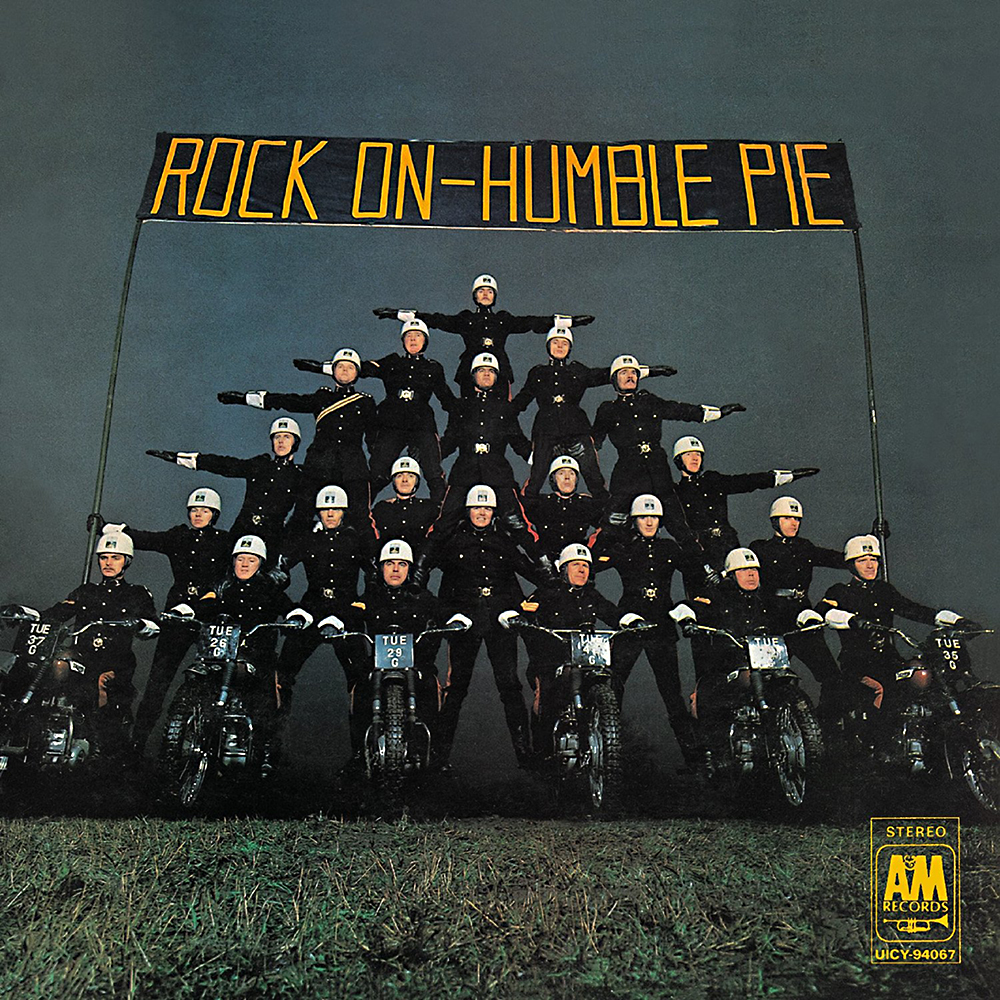 HUMBLE PIE - Rock On cover