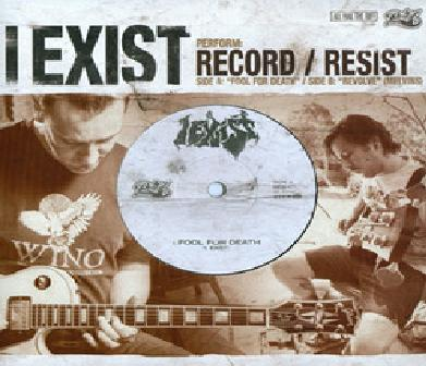 I EXIST - Record / Resist cover