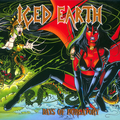 ICED EARTH - Days of Purgatory cover