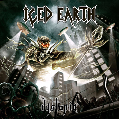 ICED EARTH - Dystopia cover