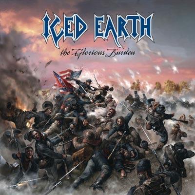 ICED EARTH - The Glorious Burden cover