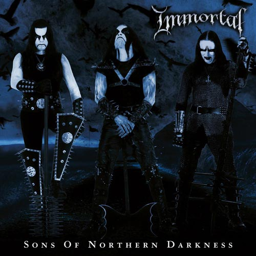 IMMORTAL - Sons of Northern Darkness cover