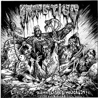 IMPETIGO - Live Total Zombie Gore Holocaust! cover
