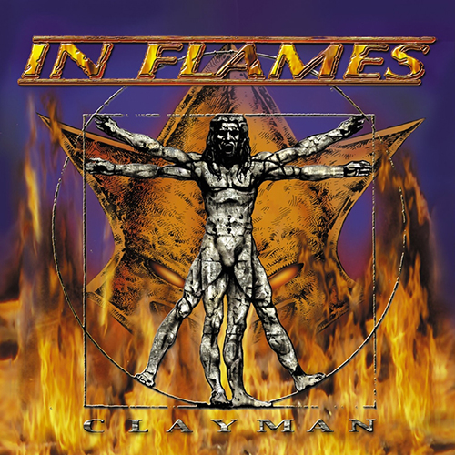 IN FLAMES - Clayman cover