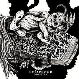 INFERIOUS - Begotten cover