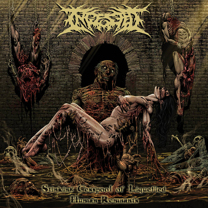 INGESTED - Stinking Cesspool Of Liquified Human Remnants cover