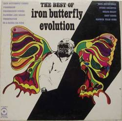 IRON BUTTERFLY - Evolution: The Best of Iron Butterfly cover