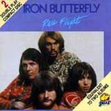 IRON BUTTERFLY - Rare Flight cover