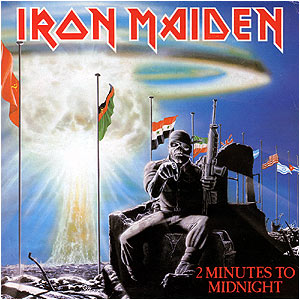 IRON MAIDEN - 2 Minutes To Midnight cover