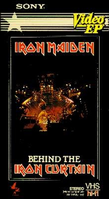 IRON MAIDEN - Behind The Iron Curtain cover