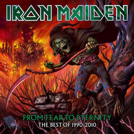 IRON MAIDEN - From Fear To Eternity: The Best Of 1990-2010 cover