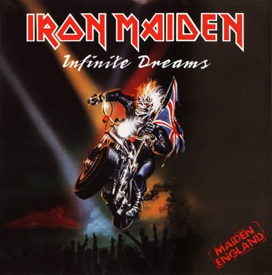 IRON MAIDEN - Infinite Dreams cover
