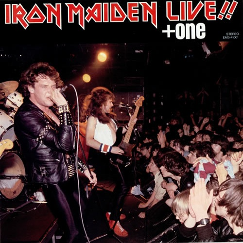 IRON MAIDEN - Live!! + One cover