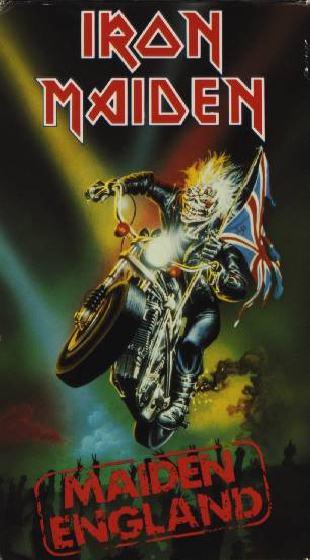 IRON MAIDEN - Maiden England cover