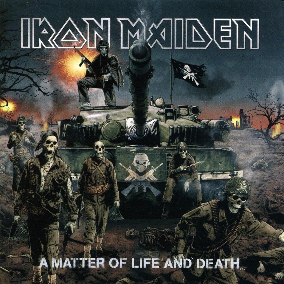 IRON MAIDEN - A Matter Of Life And Death cover