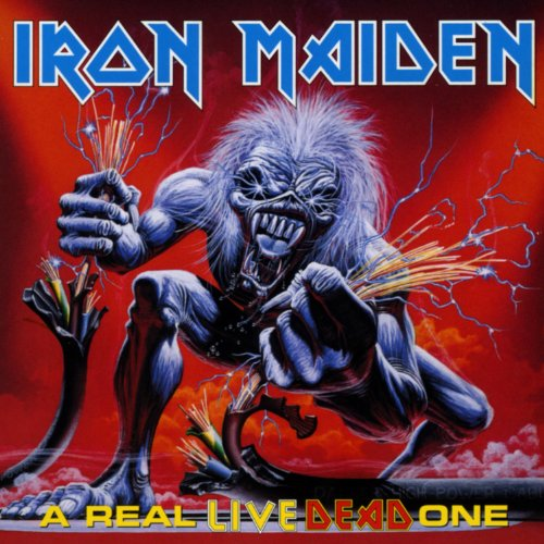 IRON MAIDEN - A Real Live Dead One cover
