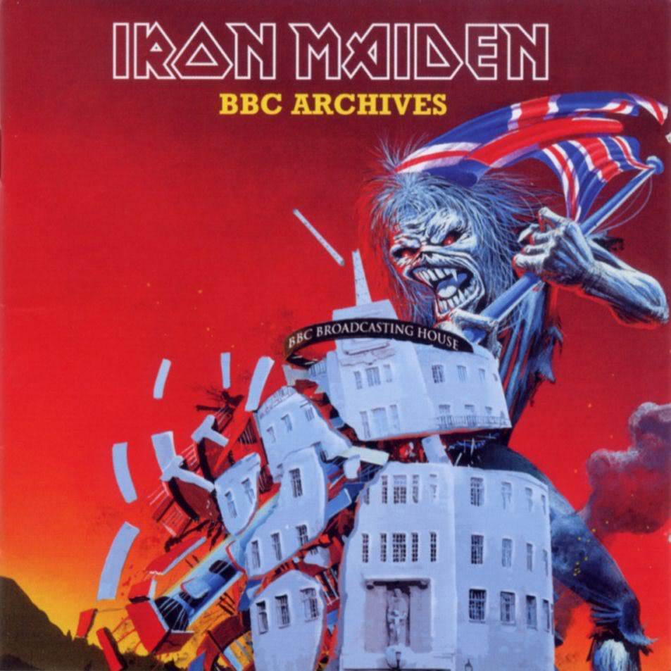 IRON MAIDEN - BBC Archives cover