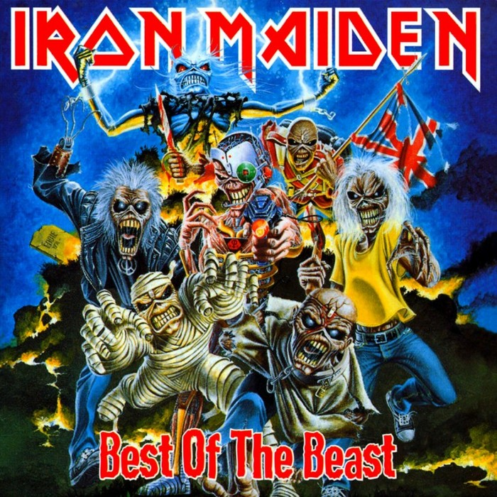 IRON MAIDEN - Best Of The Beast cover
