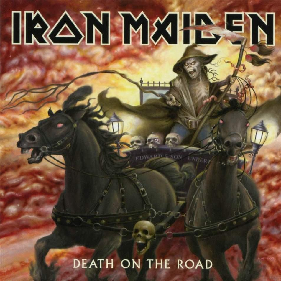 IRON MAIDEN - Death On The Road cover
