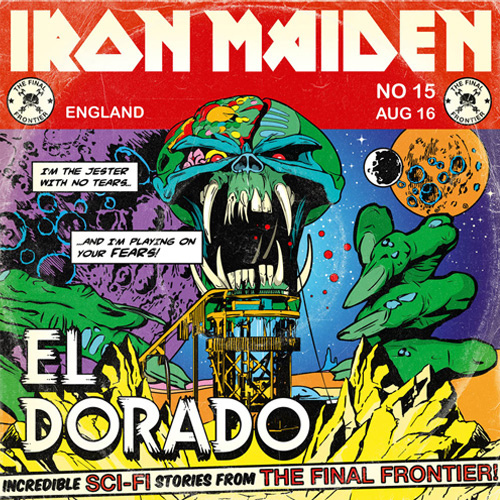 IRON MAIDEN - El Dorado cover