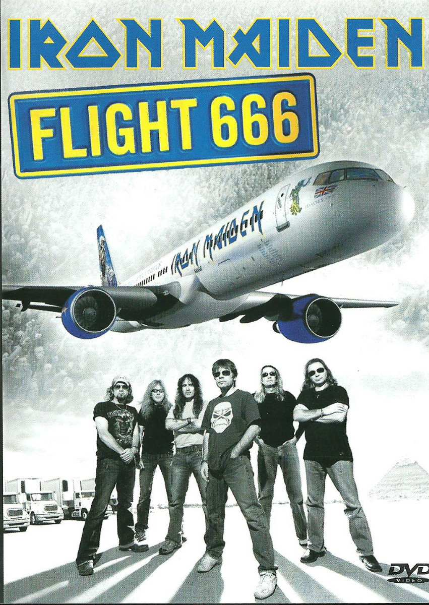 IRON MAIDEN - Flight 666: The Film cover