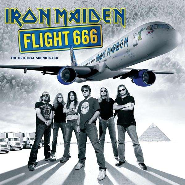 IRON MAIDEN - Flight 666: The Original Soundtrack cover
