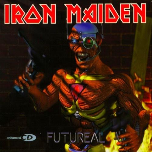 IRON MAIDEN - Futureal cover