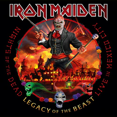 IRON MAIDEN - Nights of the Dead, Legacy of the Beast: Live in Mexico City cover