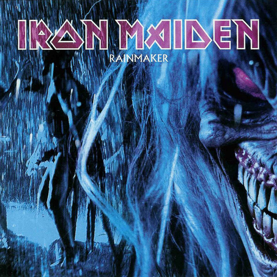 IRON MAIDEN - Rainmaker cover