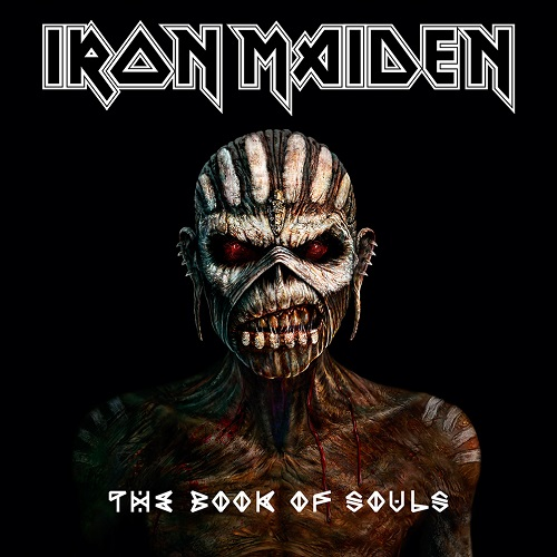 IRON MAIDEN - The Book Of Souls cover