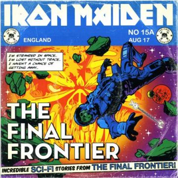 IRON MAIDEN - The Final Frontier cover