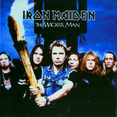 IRON MAIDEN - The Wicker Man cover