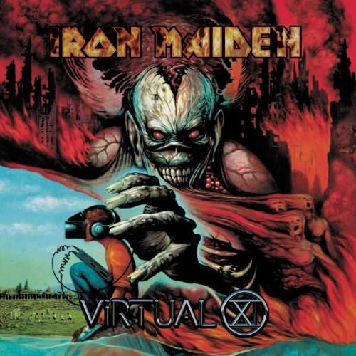 IRON MAIDEN - Virtual XI cover