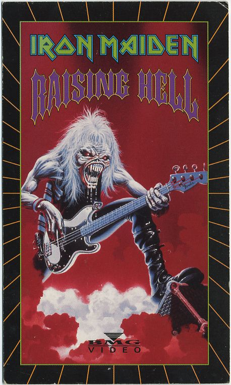 IRON MAIDEN - Raising Hell cover