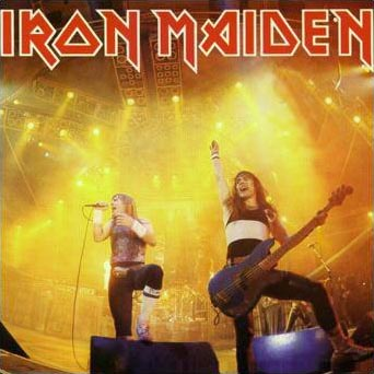 IRON MAIDEN - Running Free (Live) cover