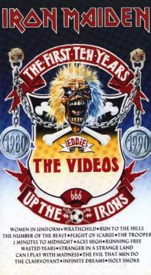 IRON MAIDEN - The First Ten Years: The Videos cover
