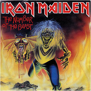 IRON MAIDEN - The Number Of The Beast cover