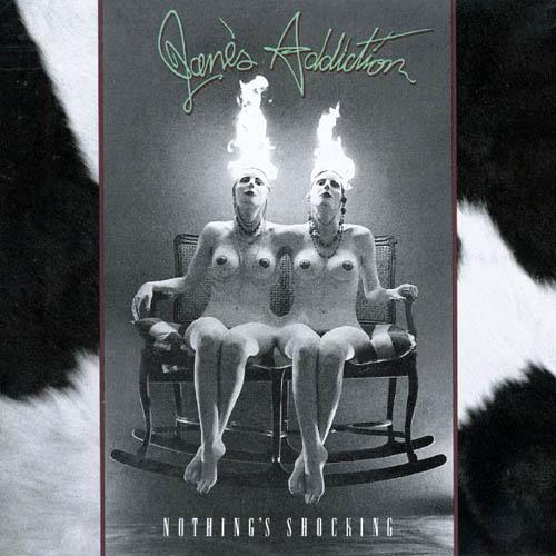JANE'S ADDICTION - Nothing's Shocking cover