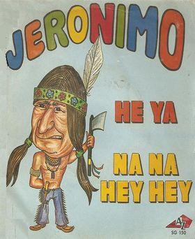 JERONIMO - Heya / na Na Hey Hey cover