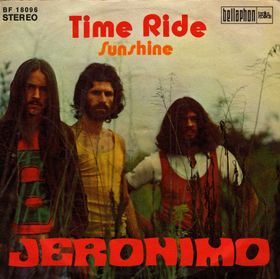 JERONIMO - Time Ride / Sunshine cover