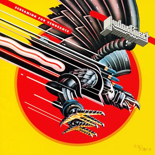 JUDAS PRIEST - Screaming For Vengeance cover