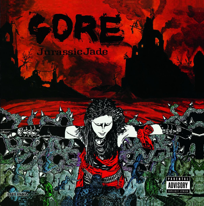 JURASSIC JADE - Gore cover