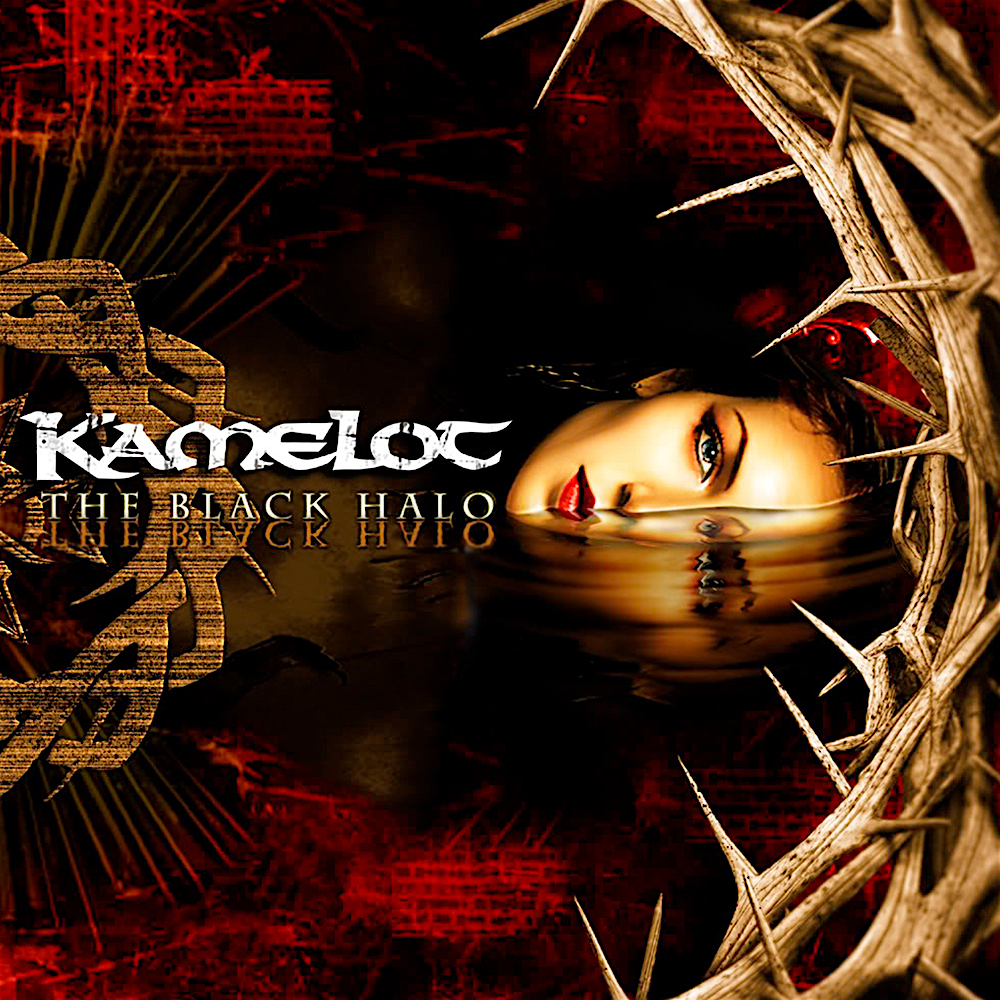 KAMELOT - The Black Halo cover