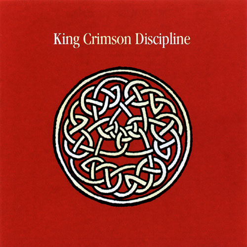 KING CRIMSON - Discipline cover